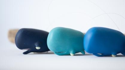 Les Ptitsmobiles blue whales